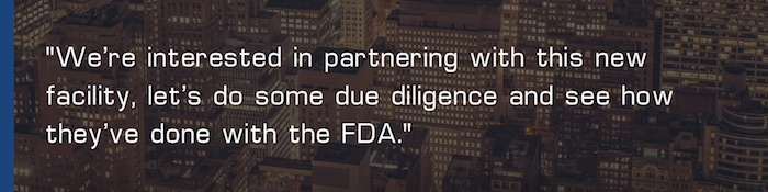 FDAzilla EA new FDA facility due diligence